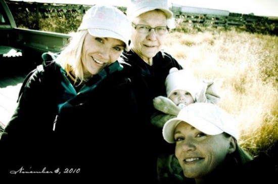 4 generations of ag women in my family