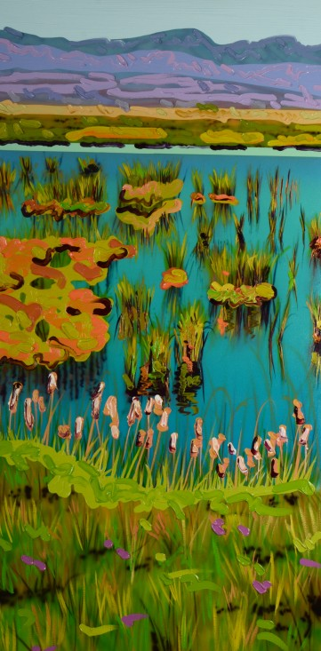 You Caught My Eye Oil on Canvas 48 X 24 2014 $2255