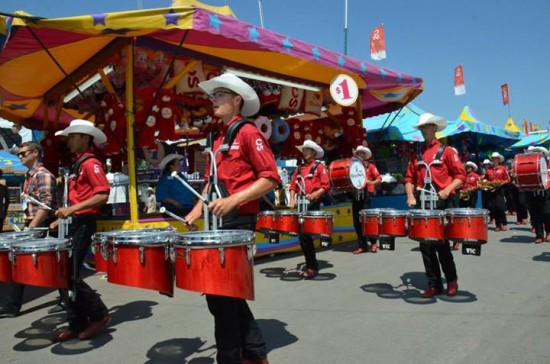 """The Showband will feel right at home during it's """"Fairs and Festivals"""" tour! They're pros at navigating Stampede Park!"""