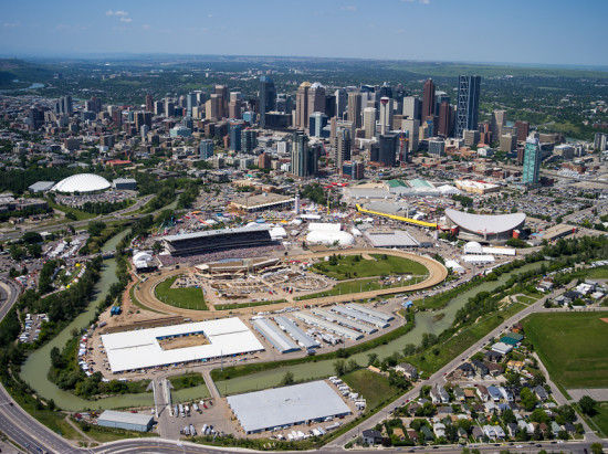 Pictured: downtown Calgary