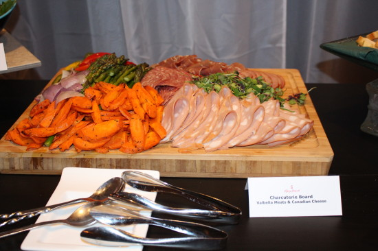 Pictured: charcuterie from Valbella Meats and Canadian Cheese our chefs served during the 2015 Nashville North announcement