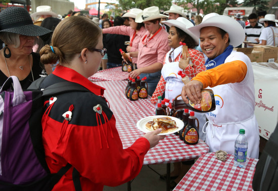 Suncor Family Day Breakfast ! photo credit: Mike Ridewood
