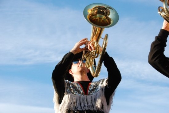 Did you know that most members of the Band of Outriders are Stampede Showband alumni?