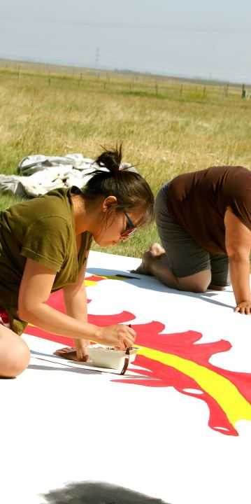 Tipi painting