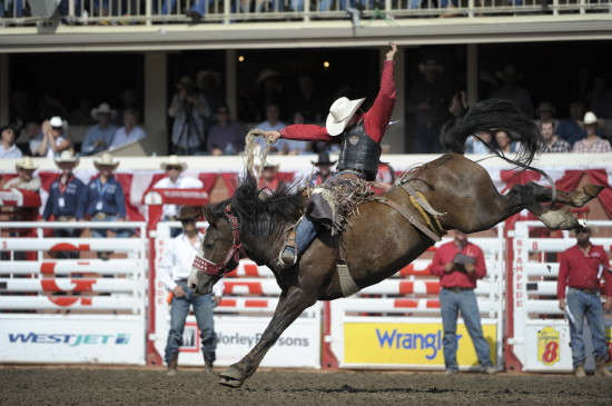 Zeke Thurston at the 2016 Calgary Stampede