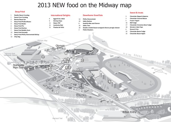 NEW food map