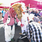 One of the Stampede's most recognized Volunteers: Harry T. Horse