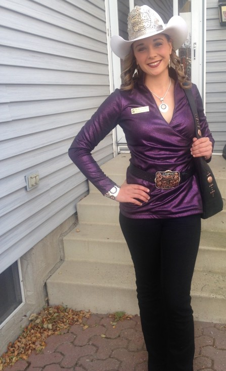2015 Stampede Queen Mick Plemel Trades Her Hip Waders For