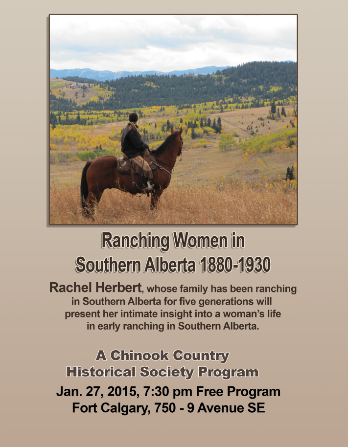 Upcoming Event Ranching Women In Southern Alberta 1880