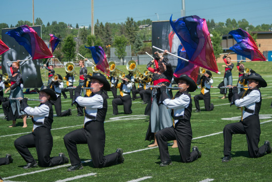 The Calgary Stetson Show Band was formed in 1988 as a high-energy marching show band for Calgary and area senior high school students.