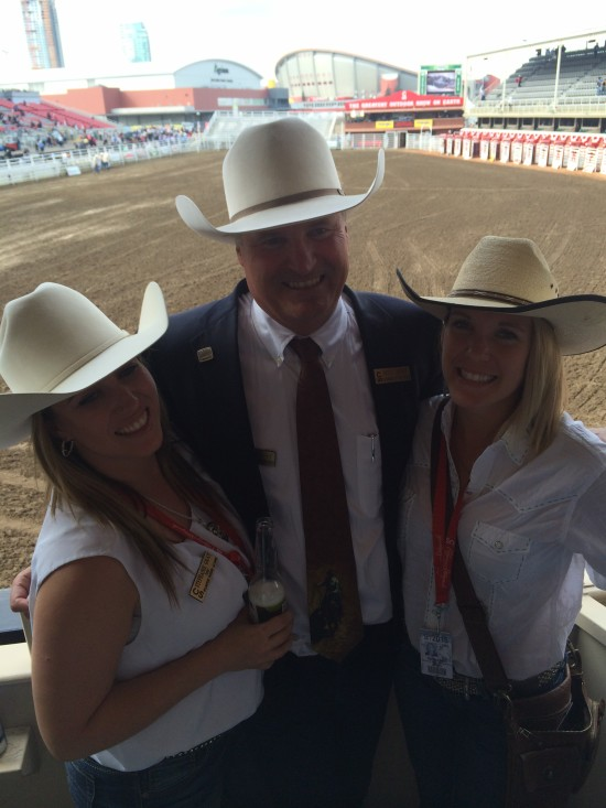 Spending time at the Rodeo with my daughters Stephanie and Kelsey.