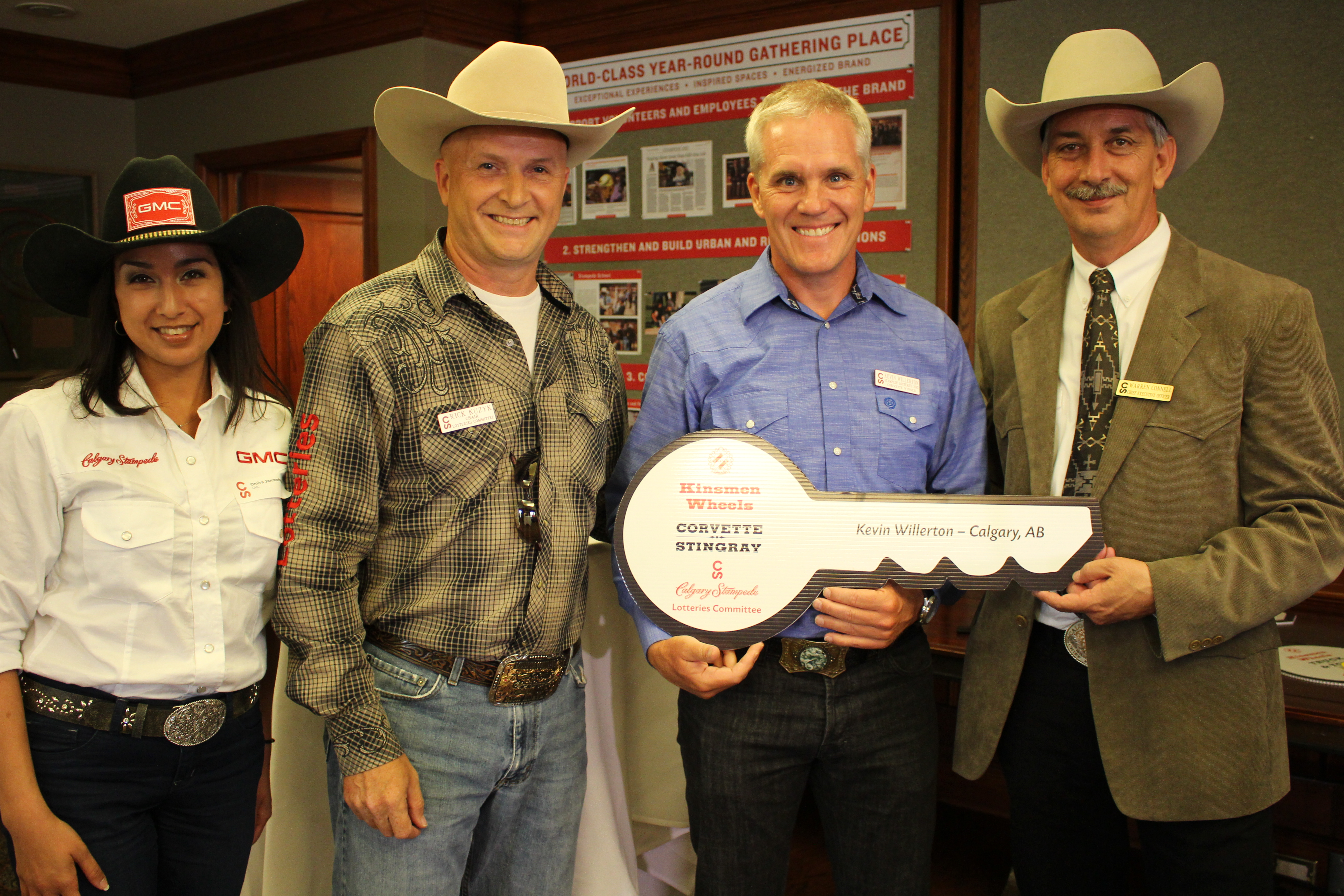 Lucky Stampede Lotteries Winners Announced Blog