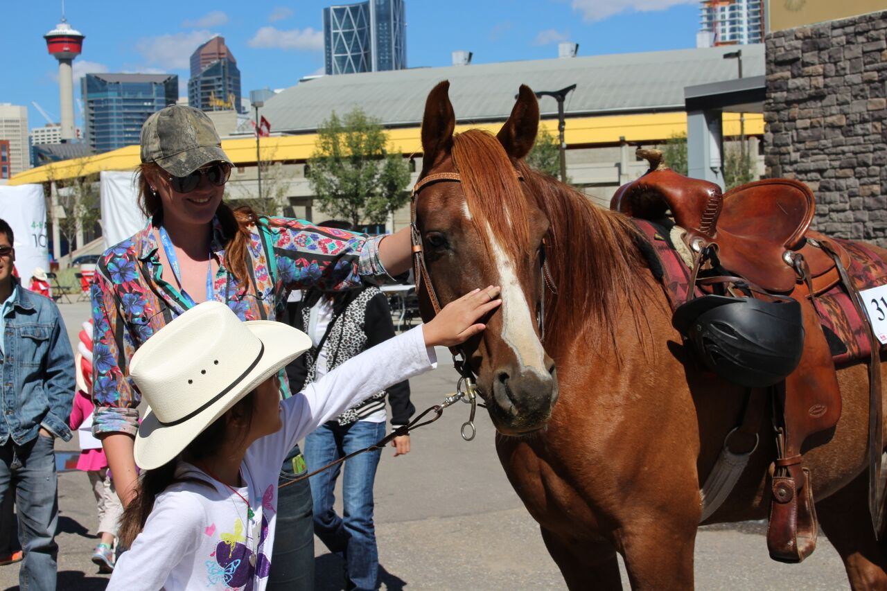 4 H Rodeo Participants Take Agrium Western Event Centre By