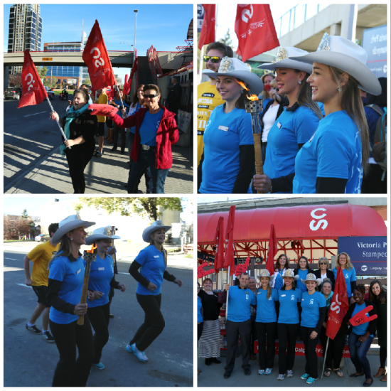 Stampede Employees In Action Calgary Corporate Challenge
