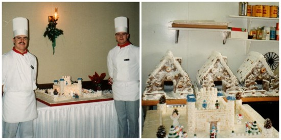 Chef Breton is no stranger to sugar sculpting. In 1987, along side his brother, Ron, chef Breton created a castle for the Glencoe Club kid's Christmas party. This castle was raffled off and raised $350 for charity.