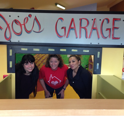 Pictured: (L) Brenda, (M) Karen and (R) Astrid touring Ronald McDonald House