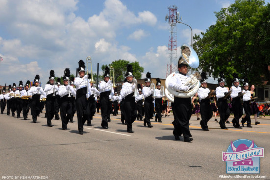 The Showband will travel to be part of the 32nd annual Vikingland Band Festival. Photo used with permission from marching.com.