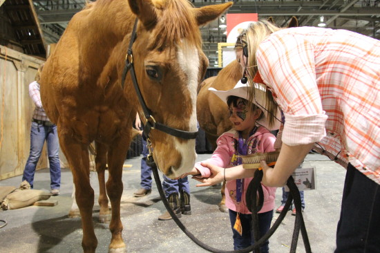 Aggie Days is often the first experience urban children have with horses