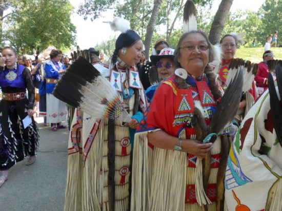 Allison Healy returns year-after-year to Indian Village and is a judge of the best tipis each summer.