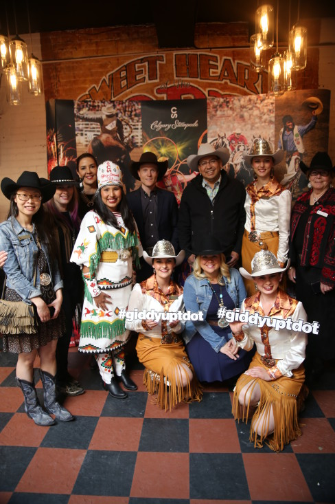 Calgary Stampede promotion team having a blast in Toronto