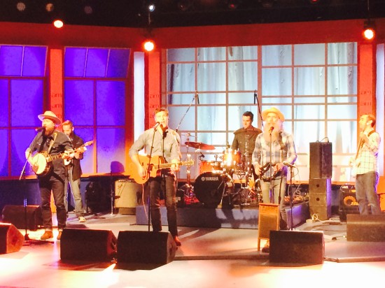 The Washboard Union on the Canada AM Sound Stage