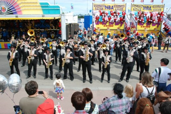 The Band of Outriders have been entertaining audiences on Stampede park and in the community for 25 years! Yahoo!