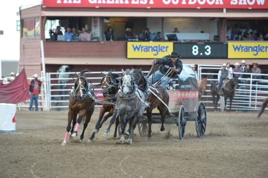 Chance Bensmiller at the 2013 Calgary Stampede