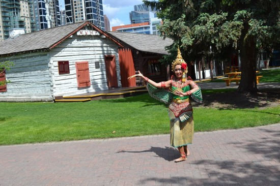 International Pavilion will have many local performers