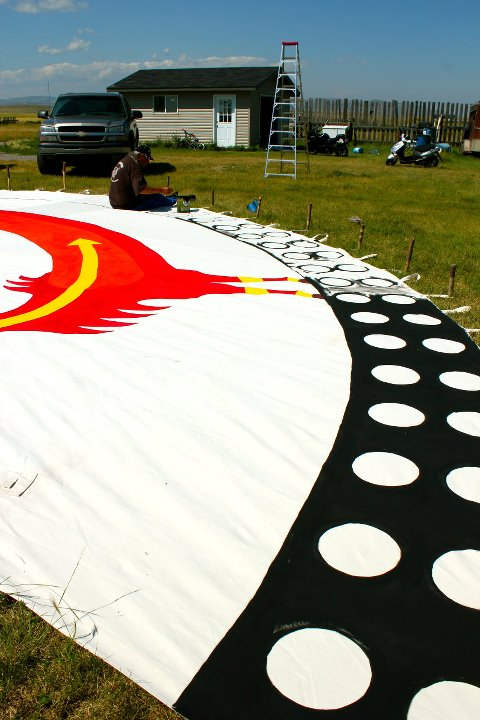 Tipi painting 4