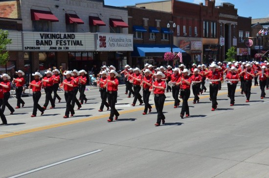 Watch for the Showband at the start of the Stampede Parade on July 8, 2016.
