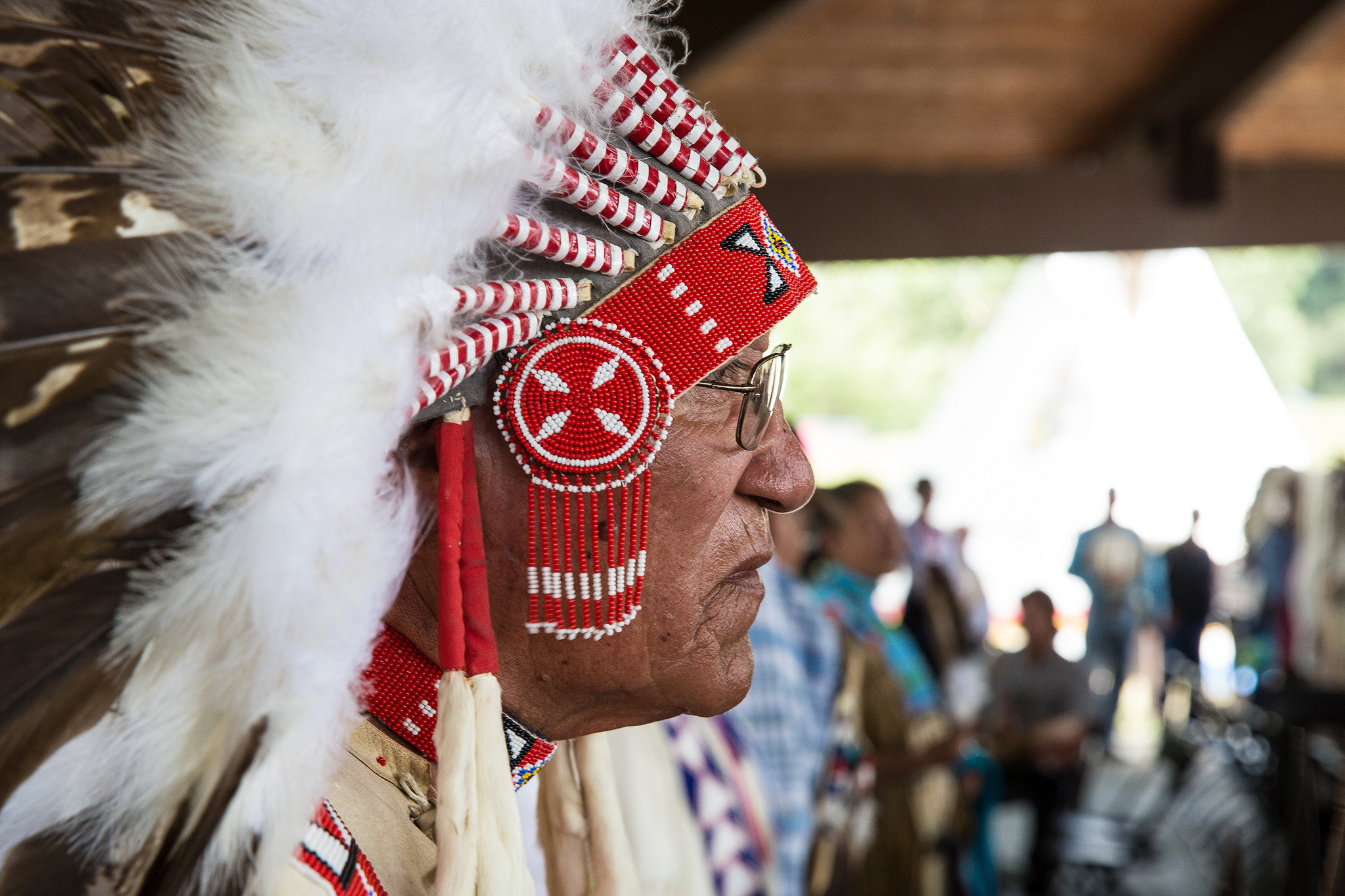 Adult Pow Wow Features Stunning Regalia And Fast Footwork