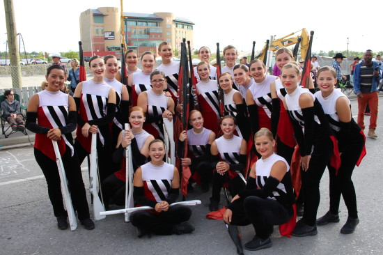 Showband Flag team