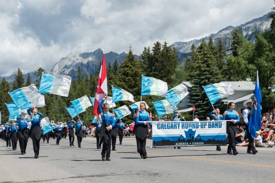 The Calgary Round Up Band provides performance opportunities for youth in grades 7-9. Photo: Pat Johnson.