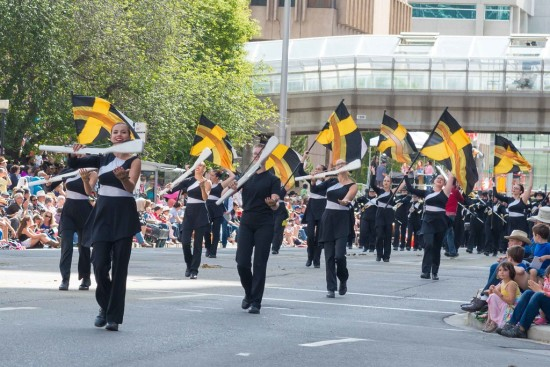 The Calgary Stetson Show Band provides performance opportunities for youth in grades 10 to 12.