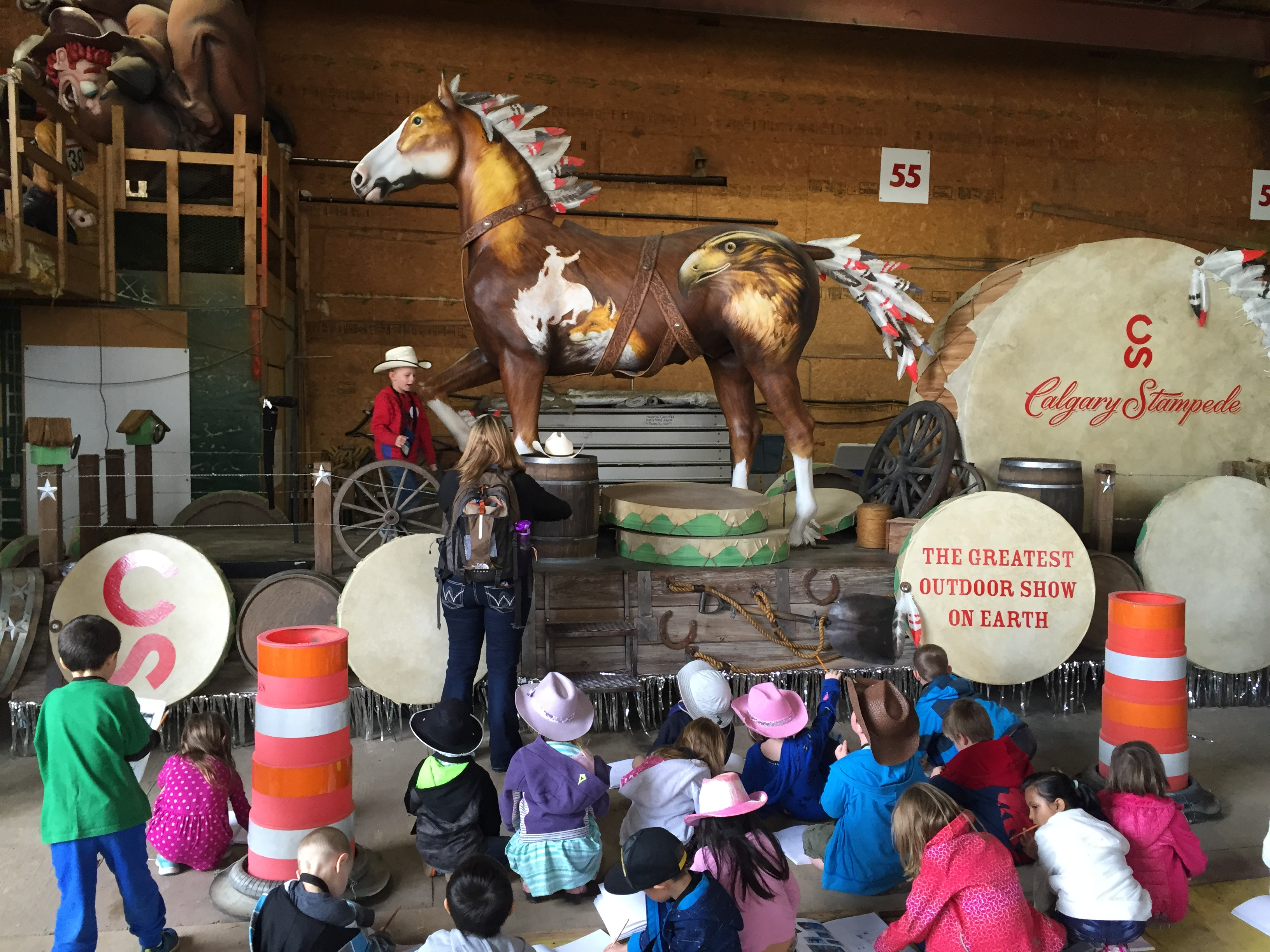 Meeting Horses And Other Adventures At Stampede School Blog