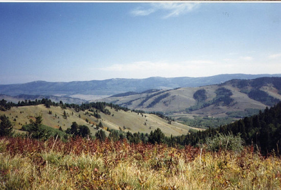 The countryside surrounding Willow Spring Ranch