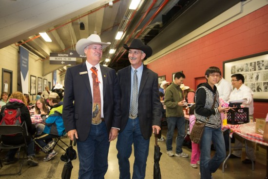 Bill Gray and Warren Connell, Stampede 2016