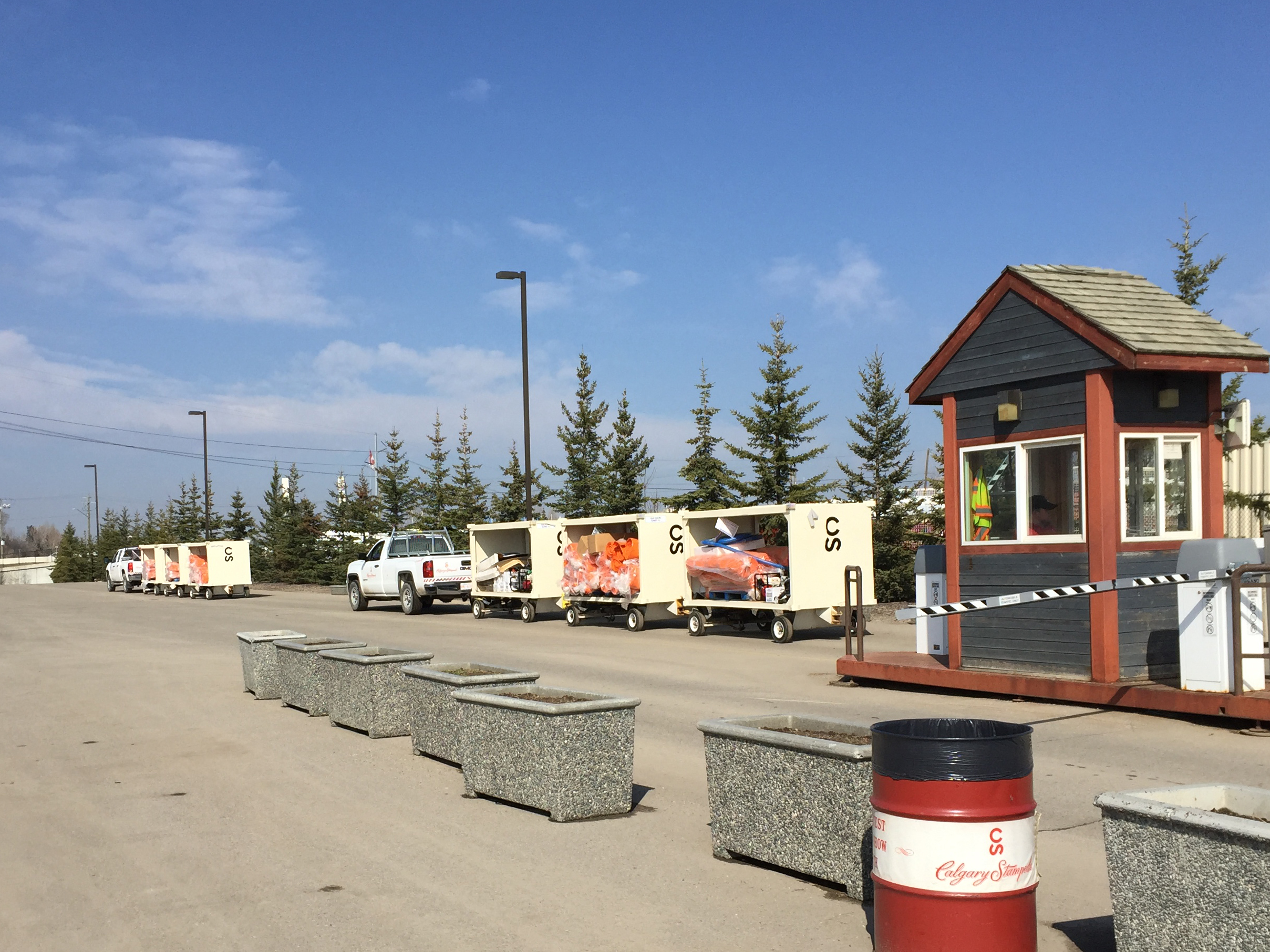 Stampede Employees Train For Emergency Flood Preparedness