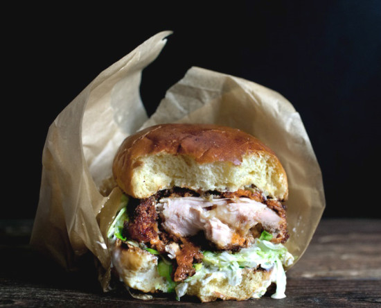 Angry Chicken Sandwhich