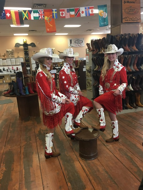 Sponsors Mean A Lot To The Calgary Stampede Royal Trio Blog