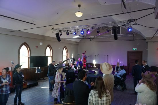 The Sun Shines On Stampede Park As Doherty Hall Officially