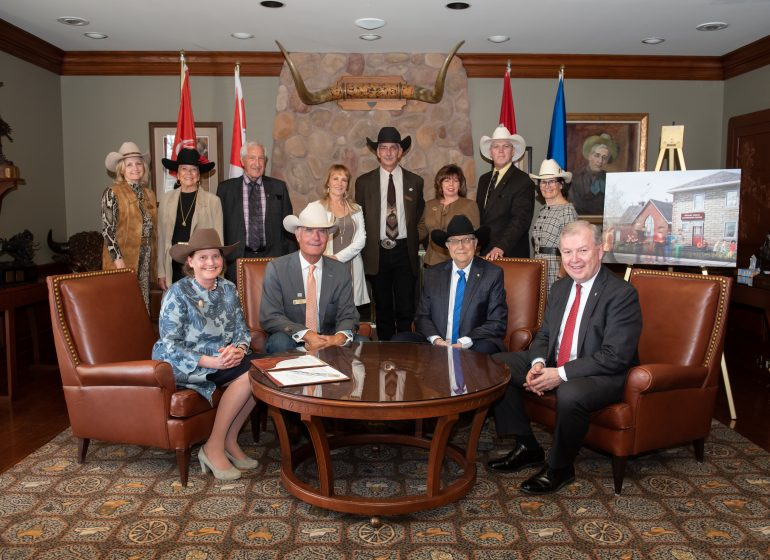 630ad9da702ce Building a vibrant future through youth leadership – Rotary Club of Calgary  South donates  1 million to the Calgary Stampede Foundation