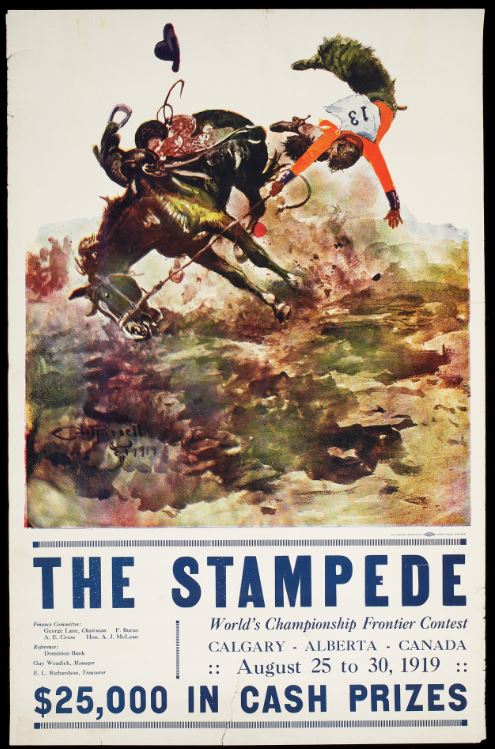 Victory Stampede Series C M Russell And The 1919 Victory Stampede Blog
