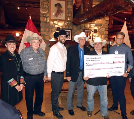 The Gift Of Giving Back Through Calgary Stampede Lotteries