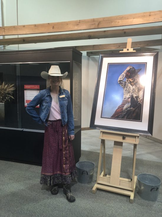 2019 Calgary Stampede Poster Competition Winner Rebecca