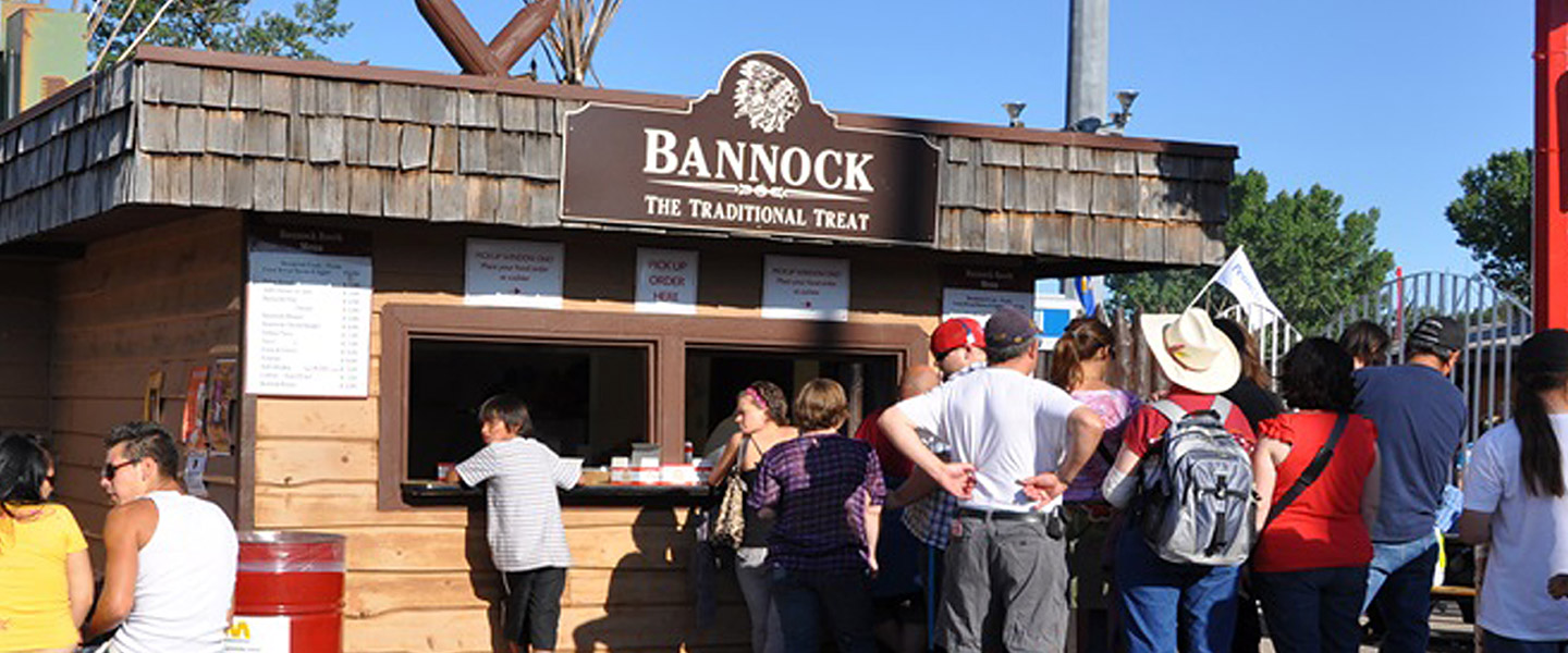 New Bannock Booth Calgary Stampede