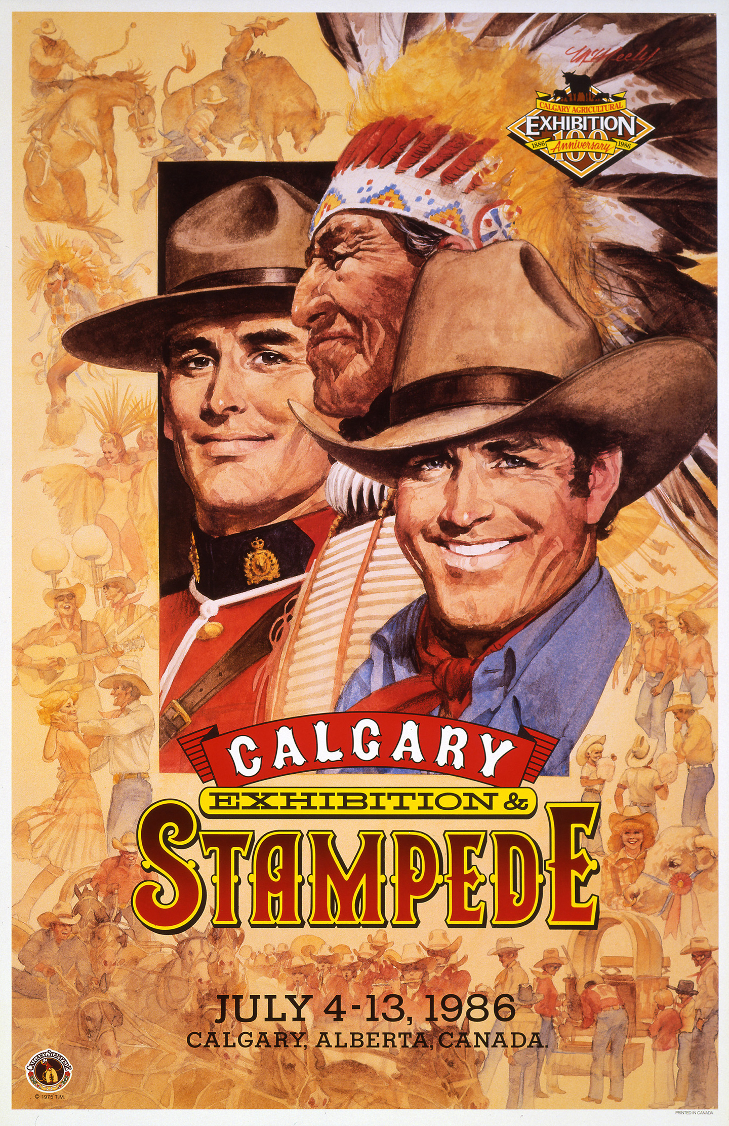 Canada Calgary Stampede Movie Poster