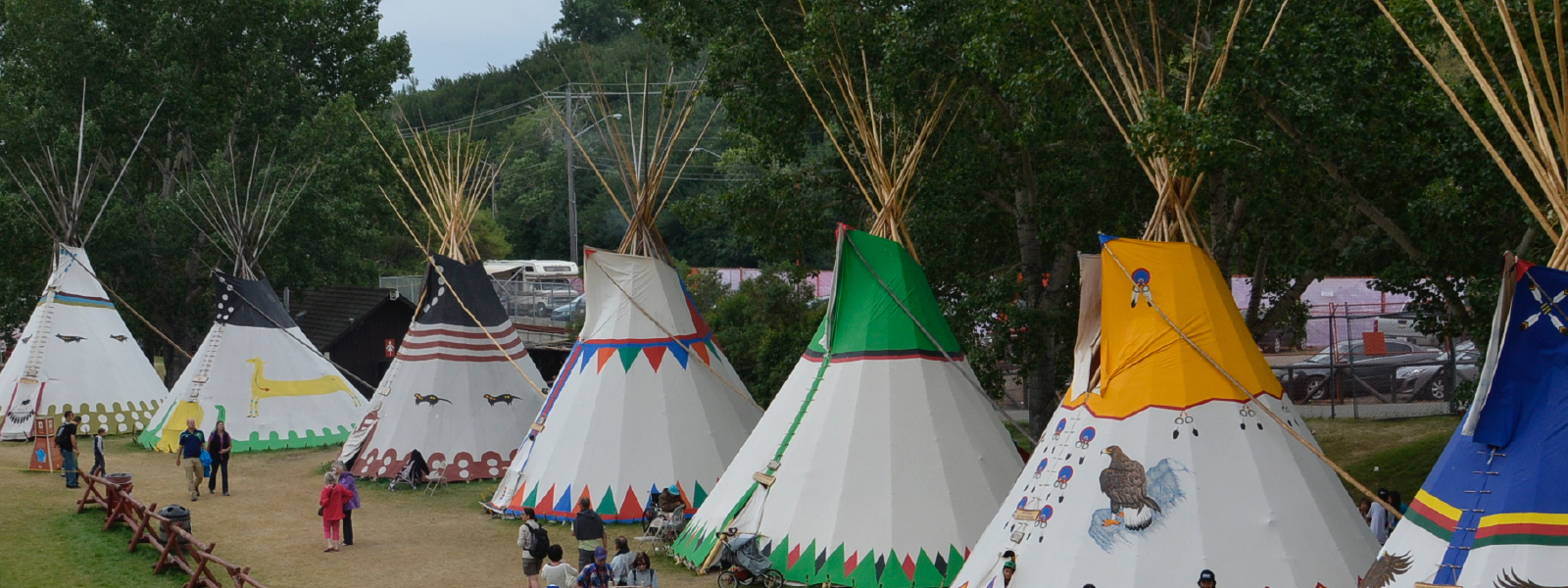 Calgary Stampede Indian Village July 6 15 2018