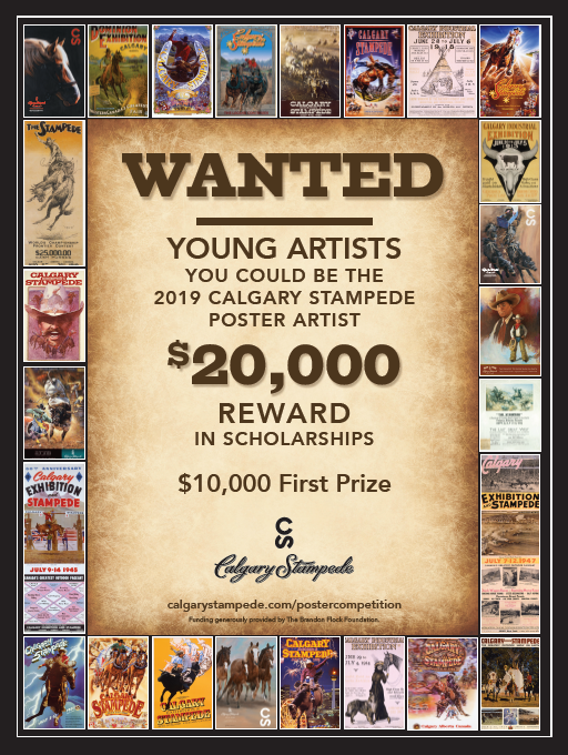 2019 CALGARY STAMPEDE POSTER COMPETITION