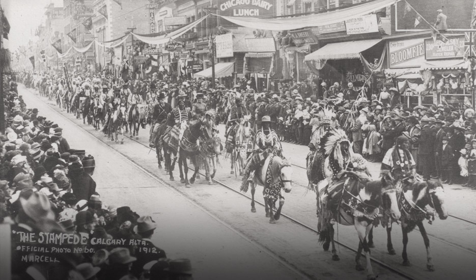 History The Early Years Calgary Stampede